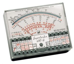 Tester Analogico Supertester ICE 680/G