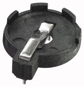 Portapila C.S per Cr2016-25-32 28x22x7 mm