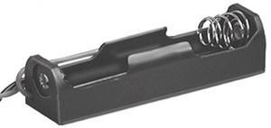 Portapila per 1 Stilo Tipo AA  57x16x13 mm  attacco con filo