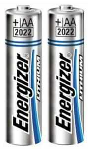 Batteria Litio Tipo AA 1.5 Volt (2pz) Energizer