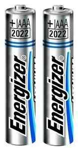 Batteria Litio Tipo AAA 1.5 Volt (2pz) Energizer