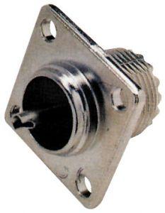 Connettore PL 259 femmina da pannello 4 fori