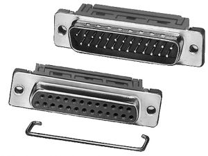 Connettore serie D 15 poli  Femmina a   perforazione di isolante