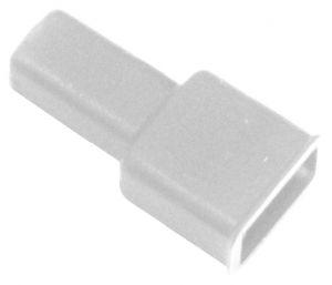 Coprifaston trasparente per faston maschio 6,3 mm(conf.100pz)