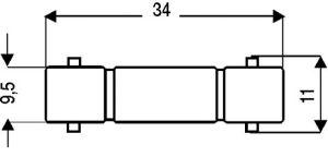 Raccordo volante BNC femmina/femmina