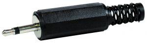 Spina Jack volante mono 3,5 mm plastica c/guidacavo