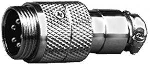 Spina microfonica volante 4 poli