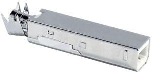 "Spina USB tipo ""B"" saldare"