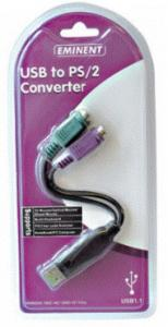 Convertitore USB/PS2 Tastiera -Mouse