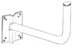 Staffa muro per parabola  CM 46