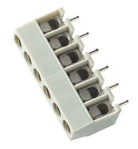 Connettori C.S. verticale P5 2 Poli componibile
