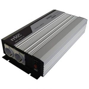 Inverter MKC-1012 2000W 12VCC/230VCA SOFT START