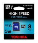 8 GB Memory Card MICRO SDHC CLASS10