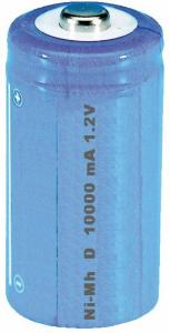 Accumulatore NI-MH 1.2 volt 9 A   serie D