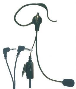 Microfono Auricolare AE 30 2 pin 90° x Midland