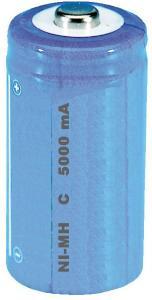 Accumulatore NI-MH 1.2 volt 5000 mah  serie C