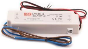 Alimentatore LPV-35-12/3A adatto per strisce LED
