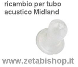 Ricambio Auricolare Trasparente x MA 31 (solo ciuccio)