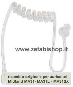 Ricambio Tubo a spirale Trasparente x MA 31