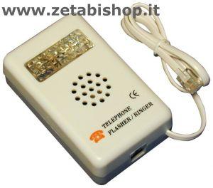 Suoneria supplementare telefonica con flash