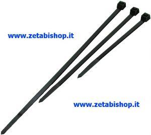 KIT Fascetta Stringicavo nera 4.5x350 mm (Conf100Pz)