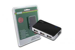 HUB USB 2.0 4 Porte con alimentatore