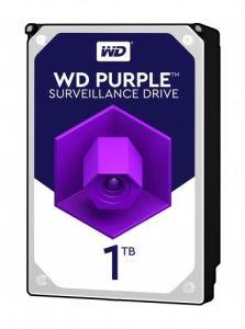 """Hard Disk interno 3,5"""" S-ATA III 1000 GB (1TB) 7200 RPM WD Purple"""