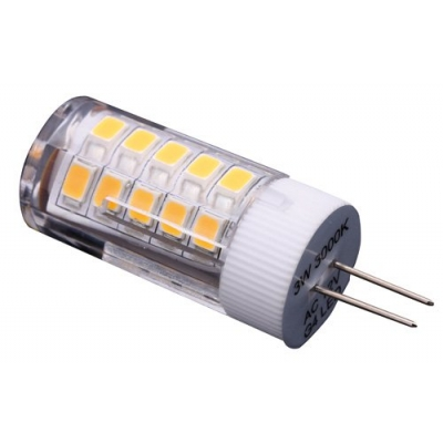 lampada led 12v ac dc connettore g4 flusso 200 lumen 3000k. Black Bedroom Furniture Sets. Home Design Ideas