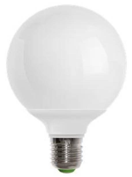 Lampada a led con attacco e27 consumo 13 watt 3000k 1100 for Lampada globo
