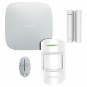 Kit antifurto ajax professionale gsm + ethernet HUB
