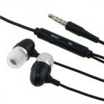 Auricolare vivavoce Stereo jack 3,5 mm bianco