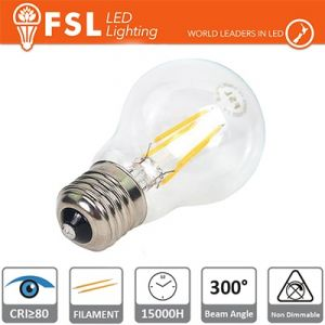 Lampada Led Globo E27 7watt 2700K 840 LM a Filamento L60x102