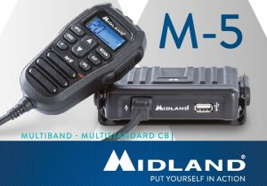 M-5 ricetrasmittente Midland CB Multi 40 Ch