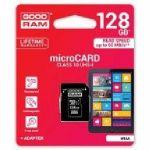 128 GB Memory Card MICRO SDHC CLASS10+adatt.