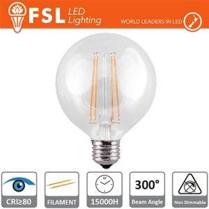 Lampada Led Globo G125 E27 6 watt 2700K 800 LM a Filamento L125x176