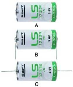 Batteria Litio SAFT 2/3A LS17330 3.6 Volt 2.1A