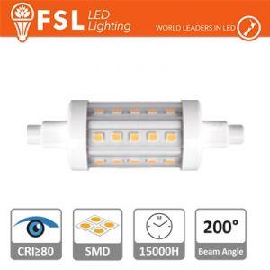 Lampada Led R7S 5 watt 600 lumen 4000K 78x25 mm