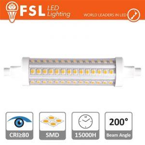 Lampada led R7S 9 watt 1160 Lumen 4000k 25x118mm
