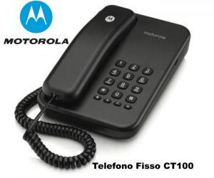 Telefono da base ct 100 motorola nero