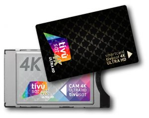 "4K-Smart Cam TiVuSAT ""ULTRA HD 4K "" con Scheda nera"