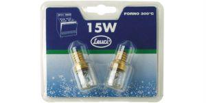 2 lampade peretta per frigo E14 15 Watt