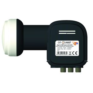 Convertitore LNB 2 OUT DCSS+SCR