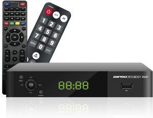 Decoder Dig.Terrestre HD DVB-T2 HEVC H265 Main10 Bit 2tel.