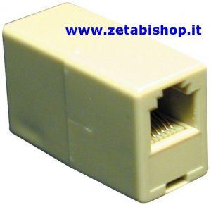 Accoppiatore Telefonico modulare corpo 6 4 contatti