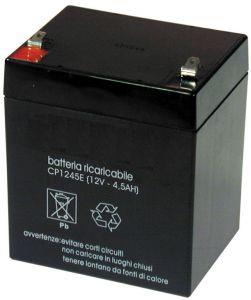 Accumulatore Piombo 12 Volt 4.5  AH MKC