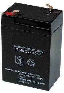 Accumulatore Piombo 6 Volt 4,5 A MKC