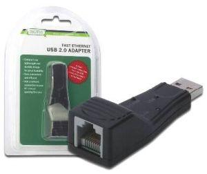 Adattatore USB 2.0 RJ 45 RETE 10/100