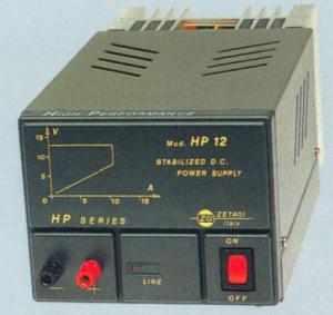 Alimentatore Stabilizzato ZG Modello HP12 12 Volt 12A. Fisso