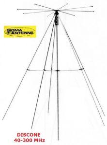 Antenna Sigma Discone  40-300 Mhz