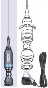 Antenna Veicolare SIRIO Turbo 5000